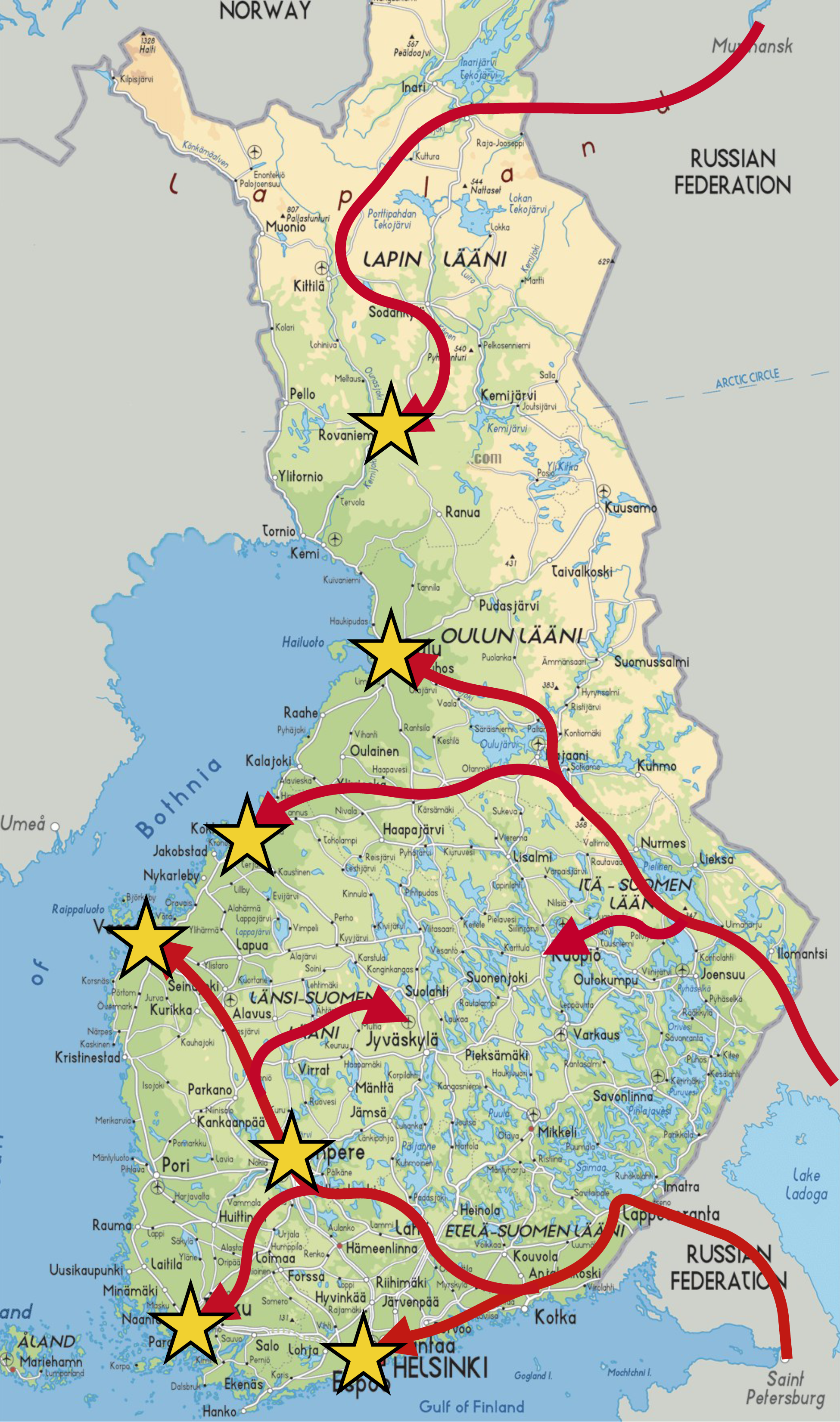 Invasion of Finland Future FANDOM powered by Wikia