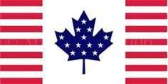 Flag of Canadamerica
