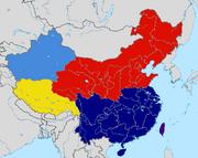 China during the Civil war