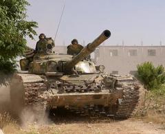 Tank in Iran