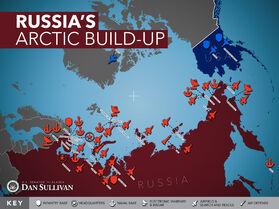 Военные базы России в Арктике