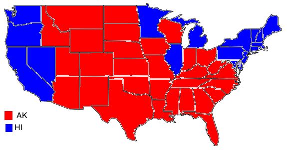 Image Election Results Changedpng Future FANDOM - Us election results 2016 map