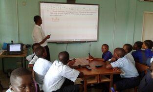 Школа в Гамбии