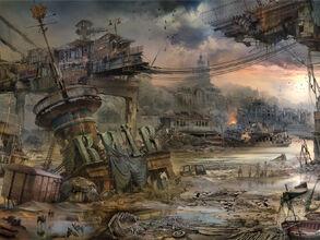 Разрушенный Киев