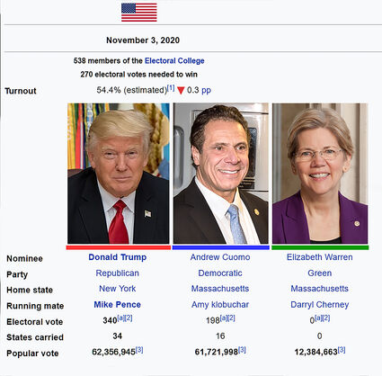 New York Elections 2020.2020 Presidential Election The Future Of America Future