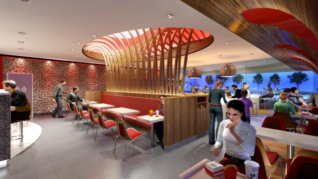 McDonaldu0026#039;sInterior2105. A Typical McDonaldu0027s Interior ...
