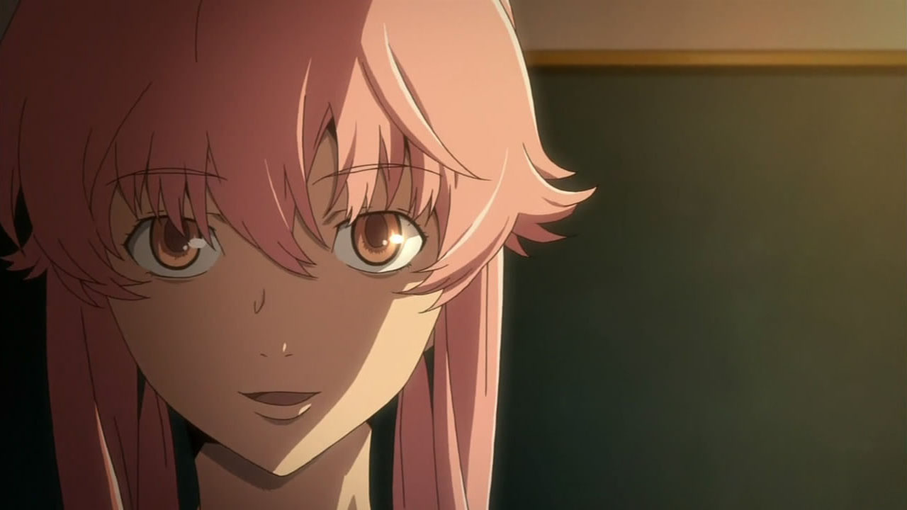 Yuno Knows Yuki Is A Diary Holder