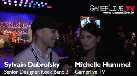 E3 2010 Rock Band 3 Exclusive Gameplay Preview