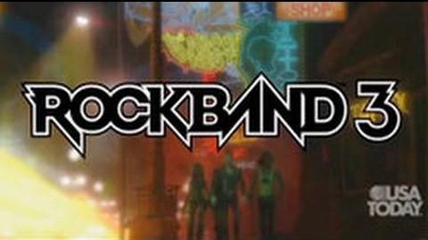 Rock Band 3 - Exclusive First Look!