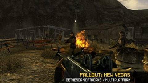 E3 2010 Live Fallout New Vegas Demo