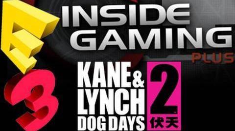E3 2010 Coverage - Machinima - Kane & Lynch 2 Dog Days Interview w Karsten Lund (IO Interactive)