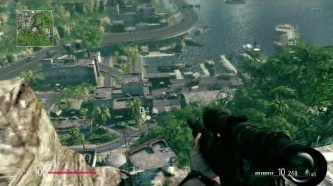 SNIPER Ghost Warrior - gameplay sniping headshot gallery HD