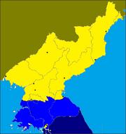 Map North Korea-2029