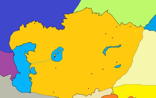Mapa de Kazakh Yeli