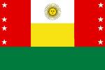 Bandera Unión Andina de Peru-Bolivia