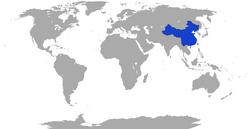 MapaChina2050