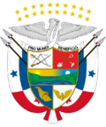 Coat of arms of Panama 20 Stars(c)