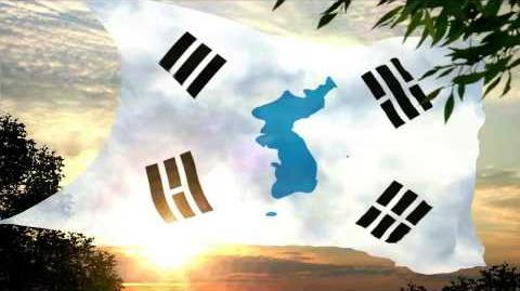 Custom Flag of United Korea