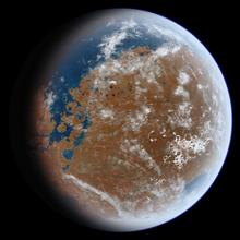 Ancient Mars Render