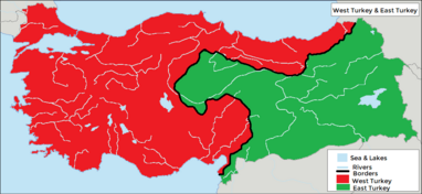 West and East Turkey