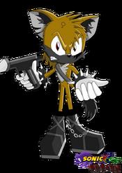 Blaise the hyena sonic x reborn by silverwolfgal1-d5g92pm