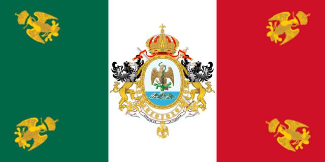 Archivo:Bandera del II Imperio Mexicano.png