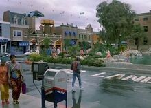Hill Valley Courthouse Square w 2015