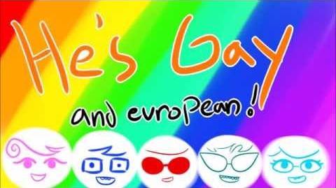 Jake- Gay Or European? 2.0