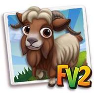 Blond Kalofer Mini Goat