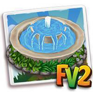 Overflowing Marble Fountain