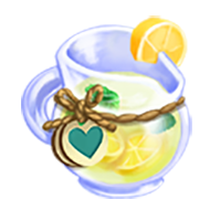 Heirloom Aquatic Mint Lemonade