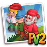 Festive Gnome Family