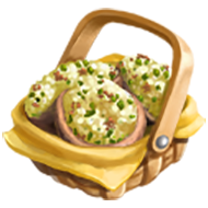 Corn Stuffed Mushrooms