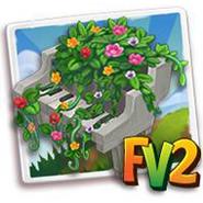 Piano Floral Fountain