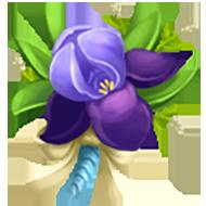 Crimean Iris Corsage