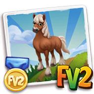 Prized Comtois Horse
