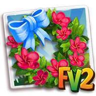 Frangipani Wreath