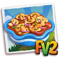 Spicy Mushroom Fry