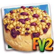 Mayweather Damson Crumble Cake