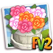 Rustic Floral Bucket