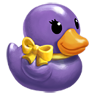 Posh Rubber Ducky