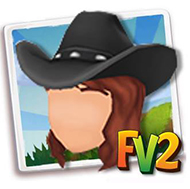 Female Black Cowboy Hat
