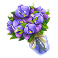 Crimean Iris Bouquet