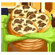 Goat Cheese Truffle Crostini