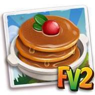 Syrupy Pancakes