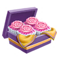 Pink Rose Truffles