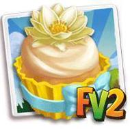 American Lotus Cupcake