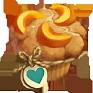 Heirloom Peach Muffin