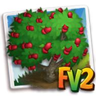 Red Jonathan Apple Tree