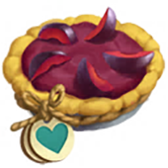 Heirloom Plum Pie